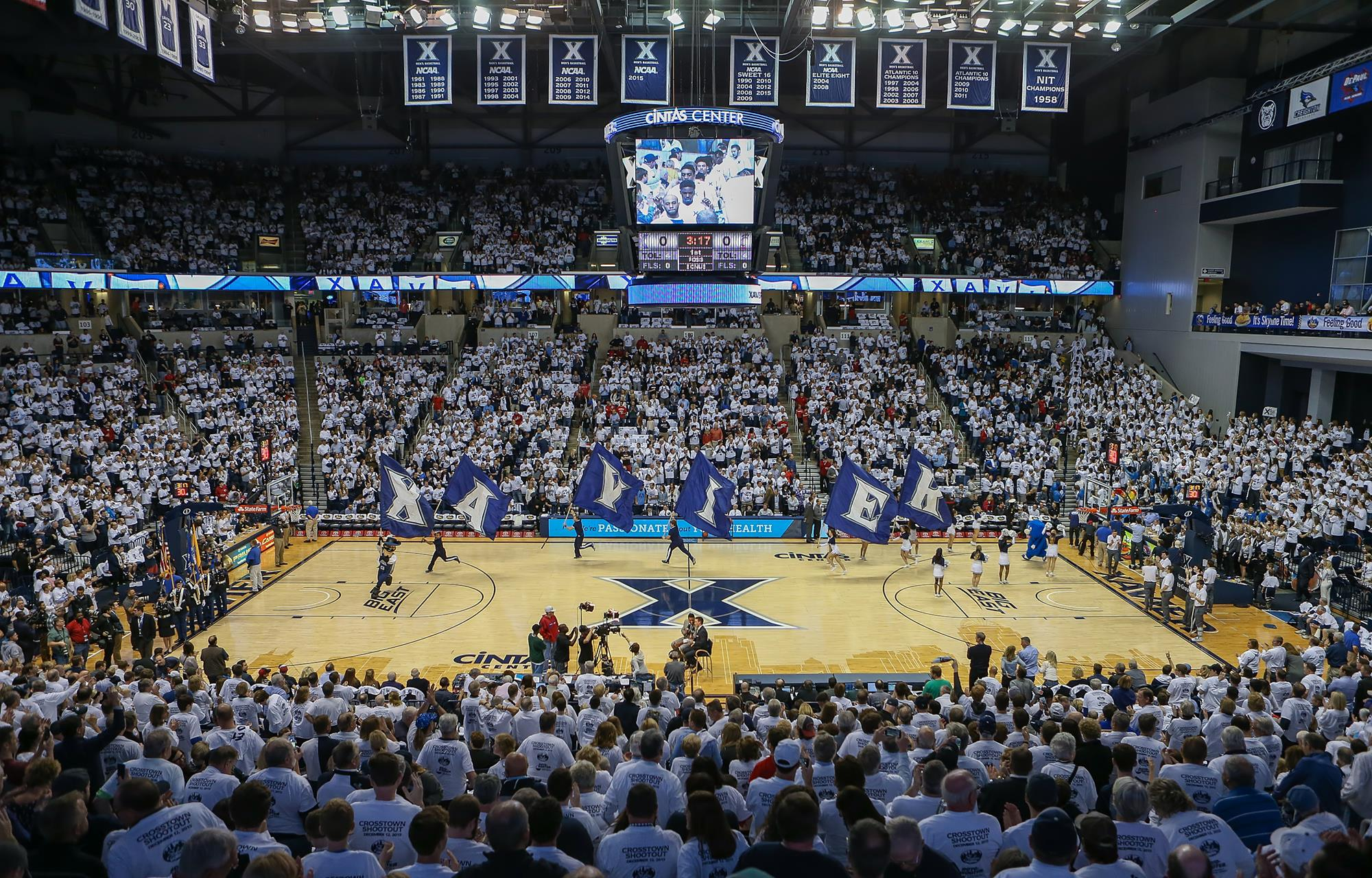 Xavier Announces New Technology and Upgrades to Cintas Center Renovations