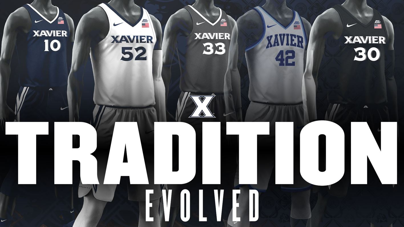 purchase cheap 2b73a abace Xavier Basketball Completes New Uniform Rollout for 2017-18 ...