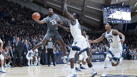 Naji Marshall could potentially be the best prospect that played in the Villanova-Xavier game.  (Photo: Laura Topp/Xavier Athletic Communications, via Xavier.)