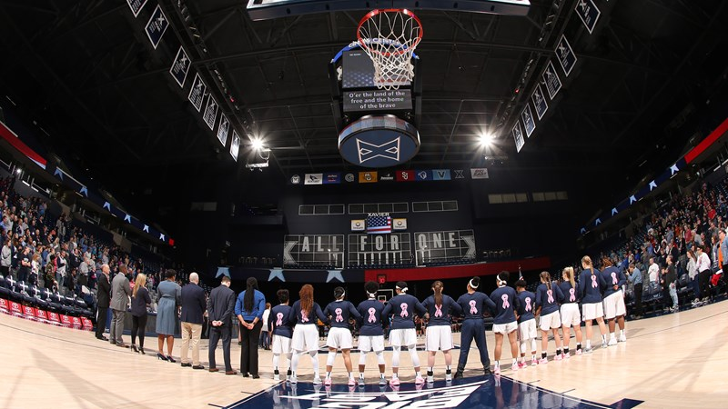 Xavier Musketeers NCAA Basketball: CINCINNATI – Xavier women's basketball is scheduled to host their Play4Kay Pink Game...