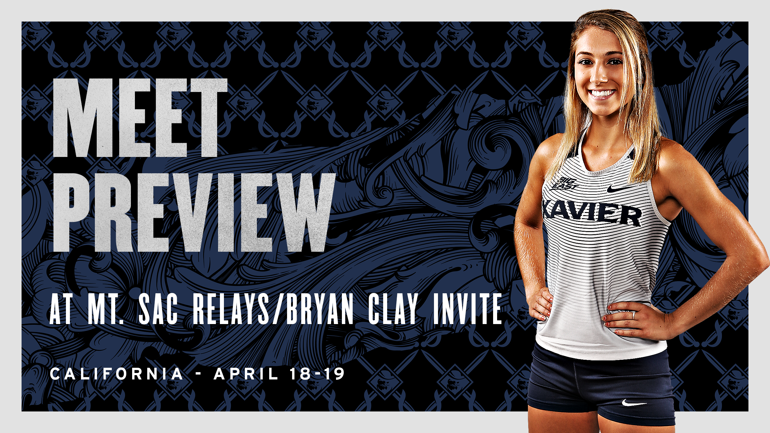Musketeers Set for Bryan Clay Invitational, Mt. SAC Relays