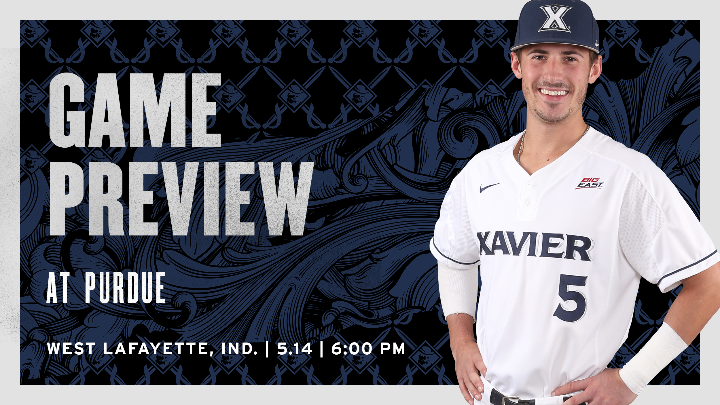 pretty nice 2f6e0 ee20b Xavier Travels to Purdue for Tuesday Evening Matchup ...