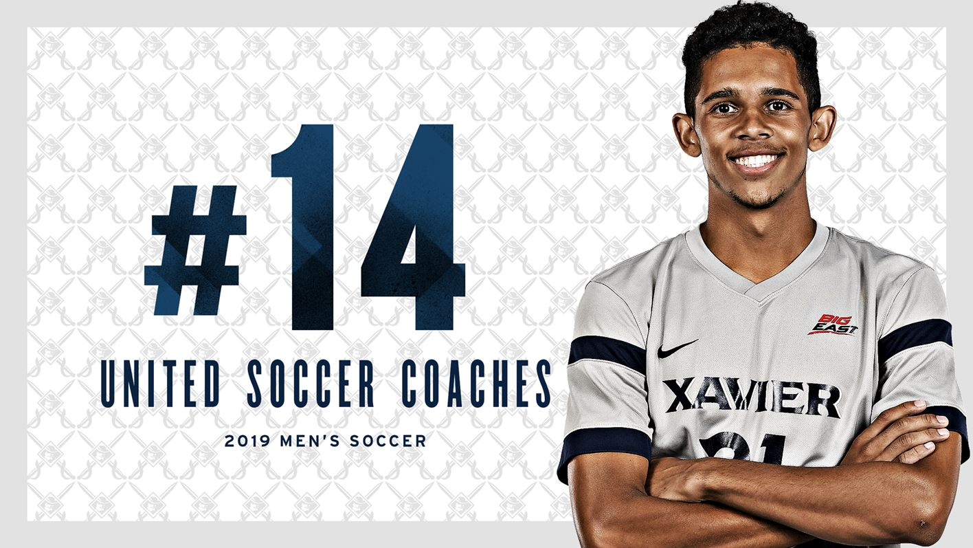 Men's Soccer Ranked 14th Nationally in United Soccer Coaches
