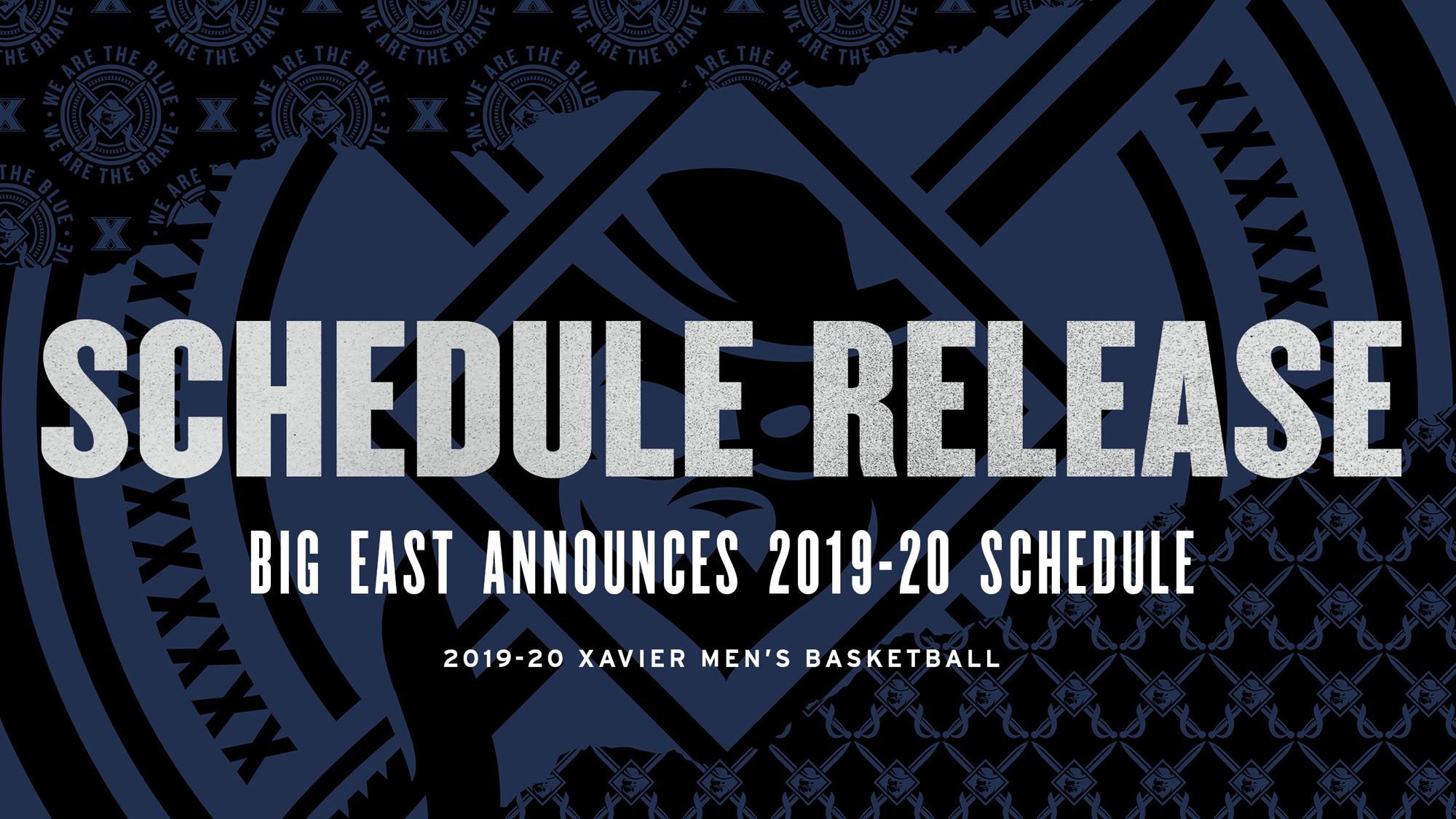 BIG EAST And Xavier Announce Complete Men's Basketball