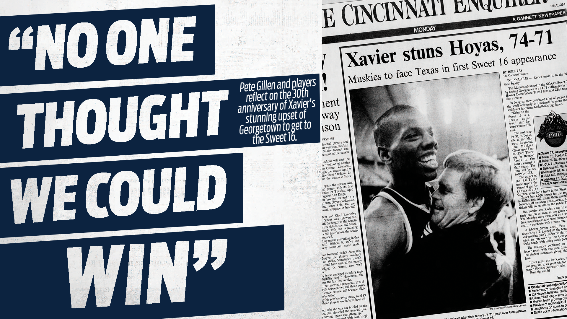 """Xavier Nation Magazine Feature: """"No One Thought We Could Win"""""""